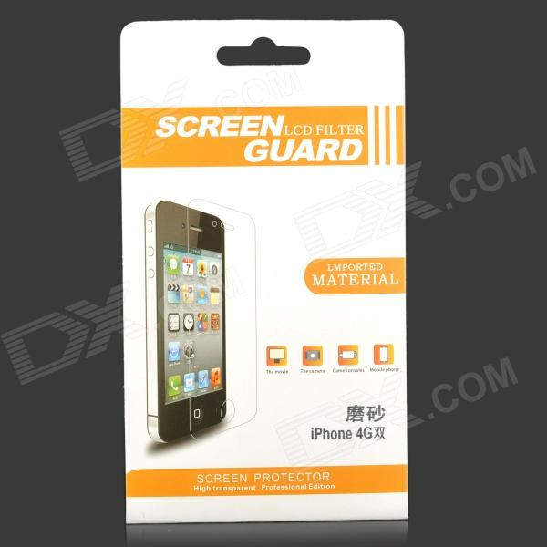 High Quality Matte Screen Protector for IPHONE 4 / 4S - Transparent matte aa grade pet screen protector for iphone 4 4s