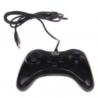 WE-805s Wired USB Single Gamepad Controller for PC - Black