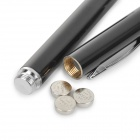 Multi-functional Detachable Capacitive Stylus + Handwriting Ball-point Pen + Laser Pen - Black