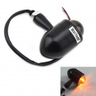MaiTech Motorcycle Performance Accessories Retro Turn Light / Indicator Lights - Black
