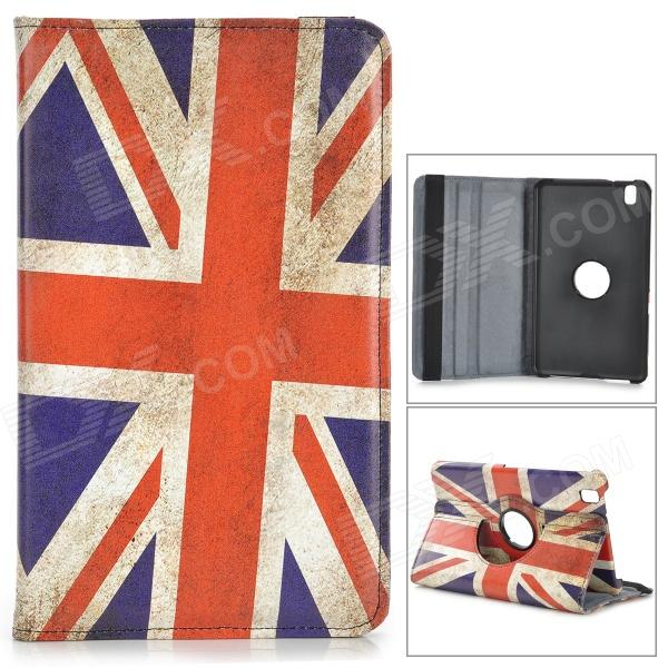 Retrò UK Flag caso PU Flip-open modello w / supporto per Samsung Galaxy Tab Pro 8.4 T320 - multicolore