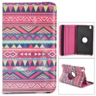 Retro Tribal Pattern Flip-open PU Case w/ Holder + 360' Rotating Back for Samsung Galaxy Tab Pro 8.4