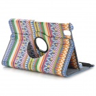 Tribal Pattern Flip-open PU Case w/ Holder + 360' Rotating Back for Samsung Galaxy Tab Pro 8.4 T320