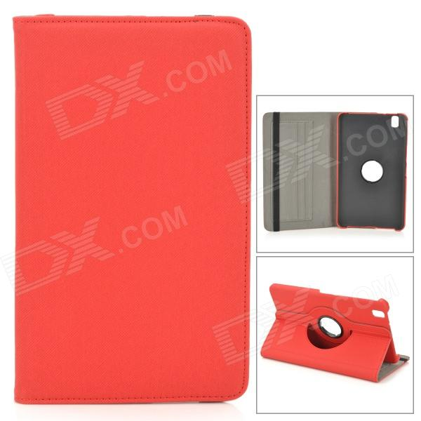 Protective PU Leather Case w/ Screen Protector for Samsung Galaxy Tab Pro 8.4 T320 / 321 - Red protective pu leather case w card slot for samsung galaxy tab pro 8 4 t320 321 black grey
