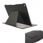 ZIQIAO SJ-HS006 protection PU cuir Housse Etui Stand pour SONY Xperia Z2 Tablet - noir