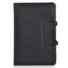 Detachable Bluetooth V3.0 59-key Keyboard PU Leather Case for DELL Venue8 / Venue8 pro - Black