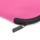Neoprene Tablet PC Power Cables Inner Protective Bag - Deep Pink