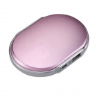 Eastor LN0030 Hand Warmer & 4400mAh Mobile External Power Bank for IPHONE / IPOD - Pink