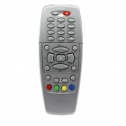 D-500S Satellite Set-Top Box Remote Control for Dream BOX 500S - Silver + Black (2 x AAA)