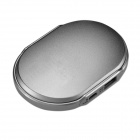 Eastor Hand Warmer & 4400mAh Mobile External Power Bank for IPHONE / IPOD - Silver