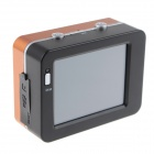 "SPC01 2.4"" LCD HD 1080P 5.0MP CMOS F3.1 f9.3mm Diving Camera / Sports Camera - Orange + Black"