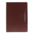 Kinston KST00967 Upscale PU Full Body Case w/ Stand for iPad Air - Brown