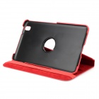Protective Flip-open Stand Case w/ Screen Protector for Samsung Galaxy Tab Pro 8.4 T320 - Red