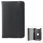 360 Degree Rotary Protective Flip Open Case w/ Stand for Asus Vivo Tab Note 8 / M80TA - Black