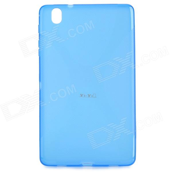 Stylish PVC + TPU Back Case + Screen Guard for Samsung Galaxy Tab Pro 8.4 T320 - Translucent Blue protective pvc tpu back case screen protector for samsung galaxy s5 dark pink