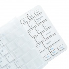 CHEERLINK 2.4GHz Super Slim 78-Key Wireless Keyboards w/ Touch Mouse Upgrade 3 - White