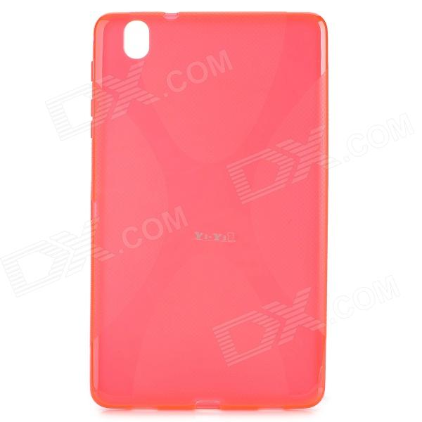 YI-YI Stylish PVC + TPU Back Case + Screen Guard for Samsung Galaxy Tab Pro 8.4 T320 - Red