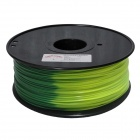 ABS-GN-Y-1.75-1.0 Blue Green to Yellow Green 3D Printers 1.75mm Filament