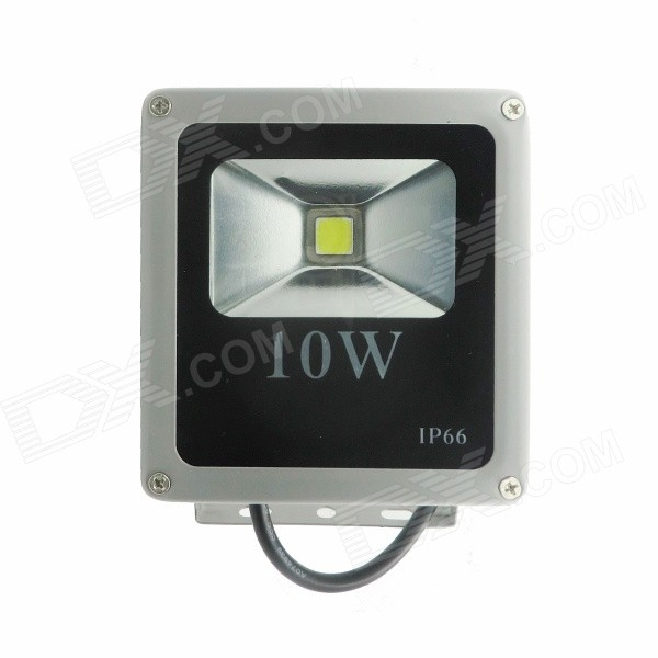 10W 900lm 5000K LED White Spot Light - Silver (AC 85-265V)