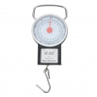 Portable Mini Digital Scale - Black + Silver + Multi-Colored (22kg / 250g)