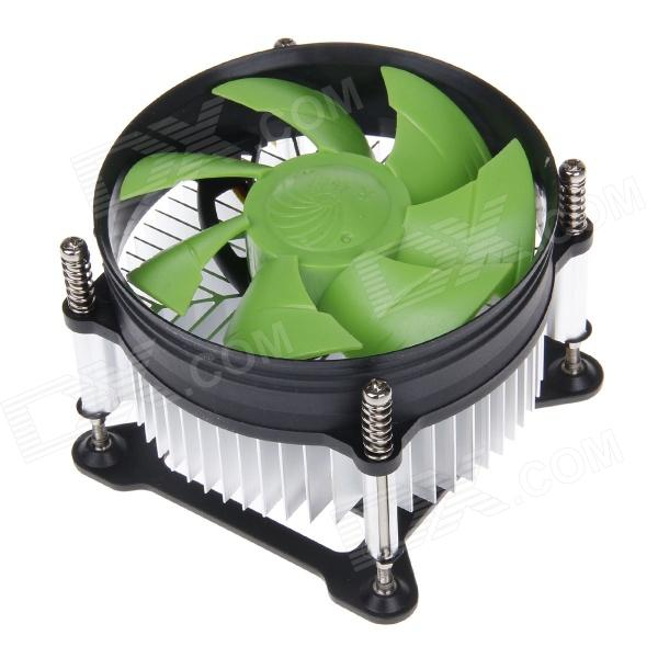 TX-910 Professional CPU Heatsink with Cooling Fan - Green + Black