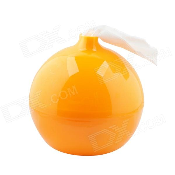 Bomb Style Toilet  Tissue Box  - Orange bomb style toilet tissue box orange