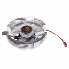 Tianjifeng Poseidon Professional CPU Heatsink with Cooling Fan - Transparent + Silver