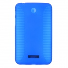 Anti-skid Protective PVC + TPU Back Case for 7'' Samsung Galaxy Tab 3 / T211 / T210 - Blue
