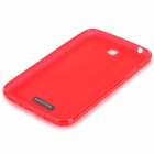 Protective Anti-slip PVC + TPU Case for Samsung T210 / T211 / P3200 / P3210 - Red