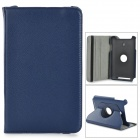 Stylish Flip-open PU Case w/ Holder + 360' Rotating Back for ASUS VivoTab Note 8 / M80TA - Blue