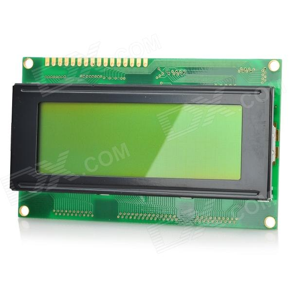 LSON FM2004A 3.1 LCD Screen Display Module - Black + Green 0 96 inch yellow blue dual color oled display 12864 lcd screen module spi iic 3 3 5v interface