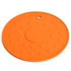 Round Shaped Silicone Insulation Mat / Pad - Orange