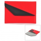 "A1011 Universal 7"" Protective PU Leather Case for Tablet PC - Red + Black"