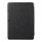 Three Fold Protective Flip Open PU Leather Case for 10.1'' Samsung Galaxy Tab Pro - Black
