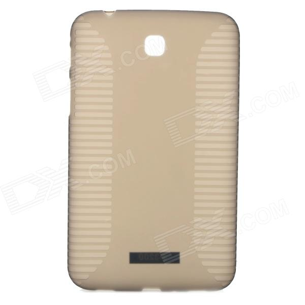 Anti-skid High Quality Protective PVC + TPU Back Case for Samsung Galaxy TAB 3/T210/T211/P3200/P3210