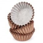 Mini Paper Cup Cake Tray for Cupcake - Coffee (100 PCS)