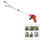xyx-QH Fold-up Aluminum Alloy Pick-up Tool / Picker - White + Red + Silver