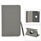 Protective PU Leather Case w/ Card Slot for Samsung Galaxy Tab Pro 8.4 T320 / 321 - Black + Grey