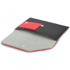"A1011 Universal 7"" Protective PU Leather Case for Tablet PC - Black + Red"