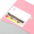 "A1011 Universal 7"" Protective PU Leather Case for Tablet PC - Pink + White"