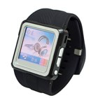 1.25in Color LCD MP4 Watch (Black 1GB with FM)
