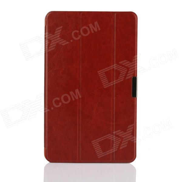 3-Fold PU Leather Cover Stand w/ Magnet function for Dell Venue 8 Pro - Brown планшет dell venue 11 pro ru96