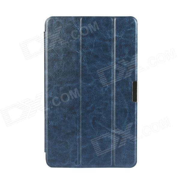 3-Fold PU Leather Cover Stand w/ Magnet function for Dell Venue 8 Pro - Deep Blue планшет dell venue 11 pro ru96