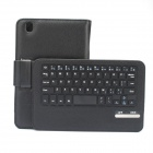 "Detachable 59-Key Bluetooth V3.0 Keyboard PU Leather Case for Samsung Tab Pro 8.4"" T320 - Black"