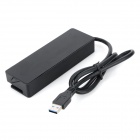 CQT-3005 5Gbps USB 3.0 4-Port Hub + 1-USB Charging Port w/ Switches / Indicators - Black