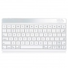 PG Universal 10'' Ultra-thin 78-key Bluetooth V3.0 Keyboard - White
