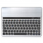 TP808 Multi-functional 10.1'' 78-key Bluetooth V3.0 Keyboard - Silver + Black + Multi-Colored