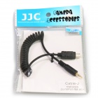 JJC Cable-J Shutter Release Cable (Replacing OLYMPUS RM-UC1) for Olympus E-620, E-600 - Black