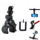 3-In-1 Quick Installation Bicycle Tripod Mount for Camera / Cell Phone / GoPro Hero 2/3/3+ / SJ4000