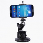 90mm Car Suction Cup Mount Holder for Camera / DV / Cellphone / GoPro 4/2 / 3 / 3+ - Black